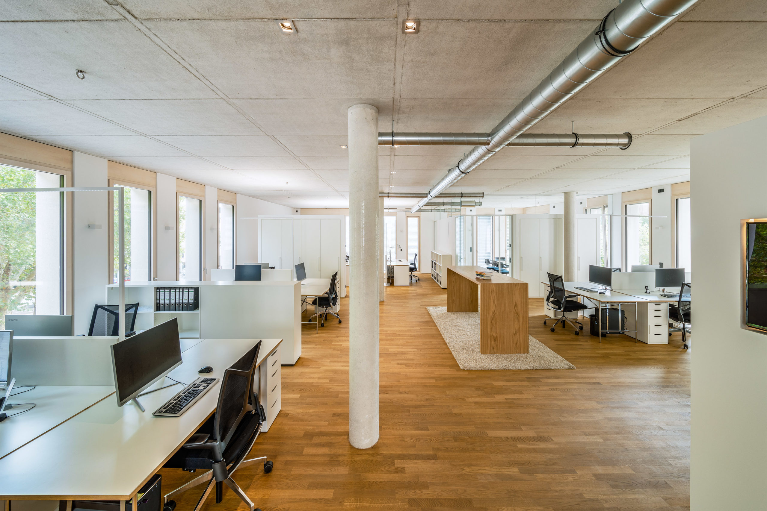 Innenaufnahme des Büros von Bitsch+Bienstein Architekten in Wiesbaden
