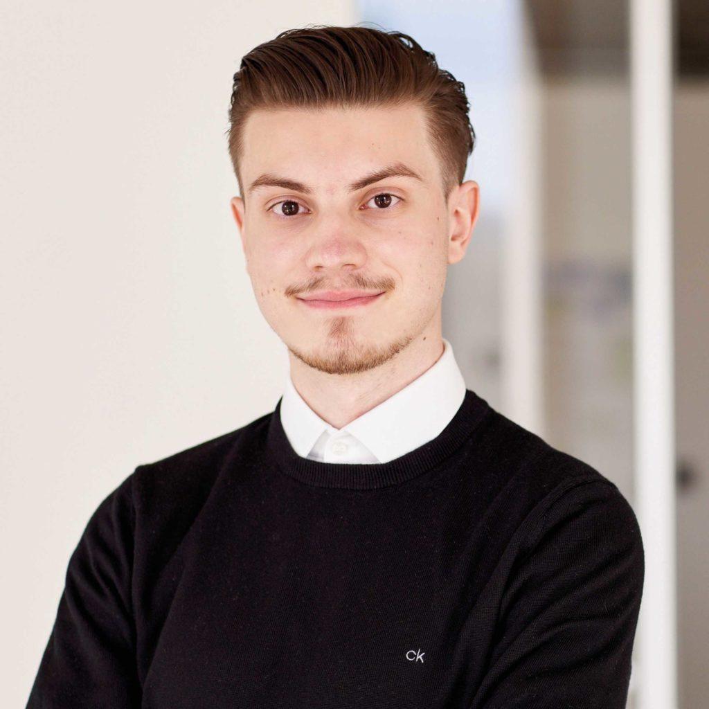 Portraitfoto von Oskar Sobiech für Bitsch+Bienstein Architekten in Wiesbaden