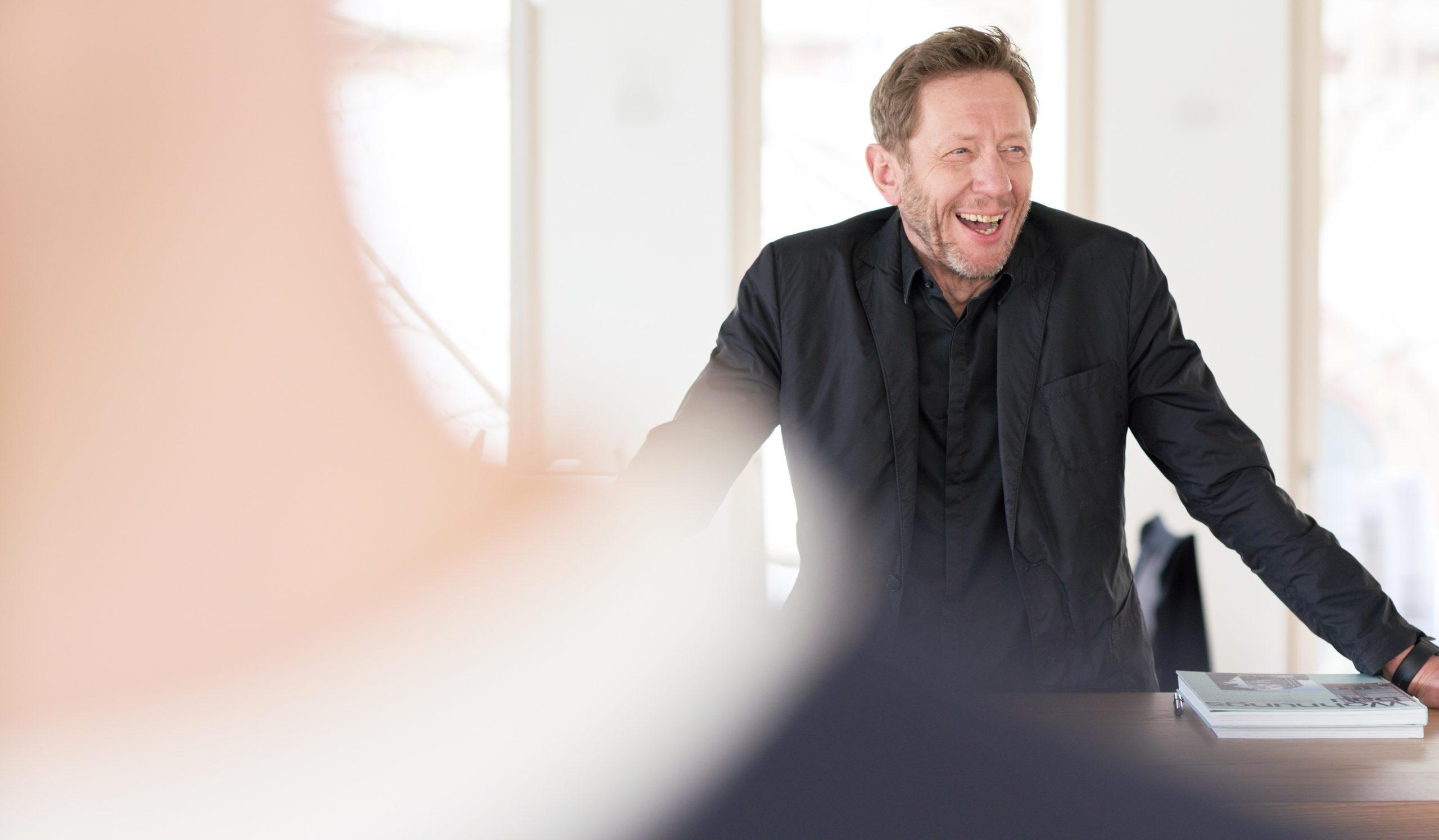 Portraitfoto von Peter Bitsch für Bitsch+Bienstein Architekten in Wiesbaden