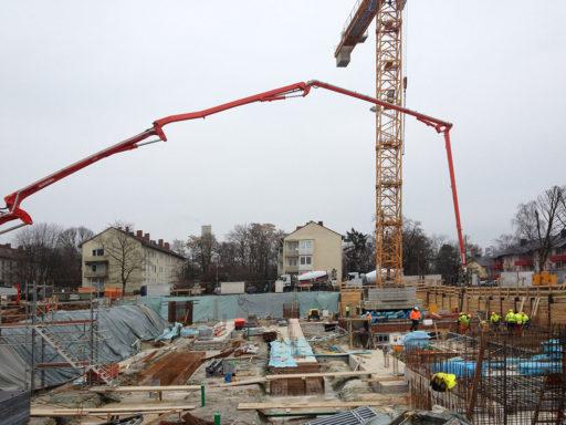 Baustelle Wohngebiet am Komponistenviertel in Wiesbaden