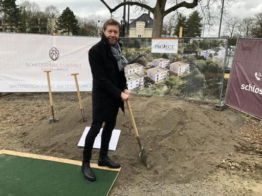 Baubeginn für das Schlosspark Ensemble in Wiesbaden-Biebrich